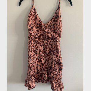 Cheetah Cocktail Dress